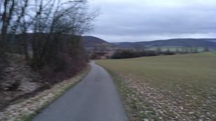 Wendemarke 1 km