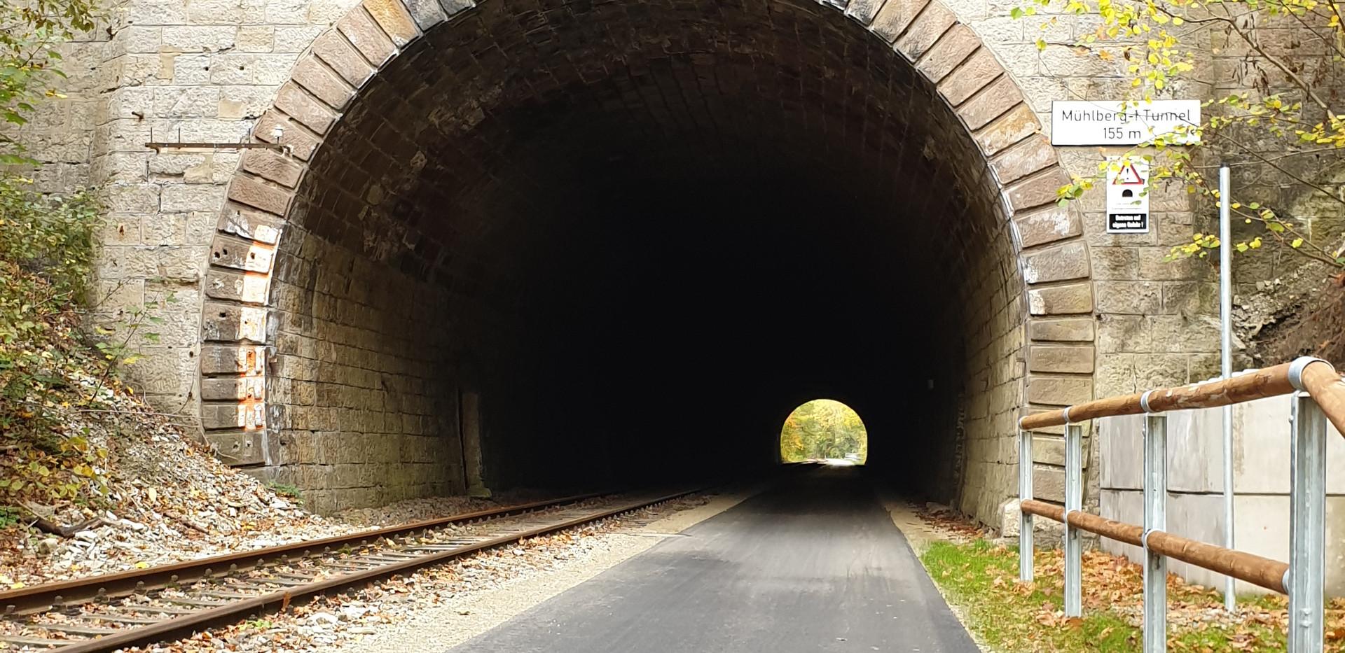 Mühlberg I Tunnel 155 Meter