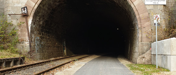Heiligenbergtunnel 198 Meter