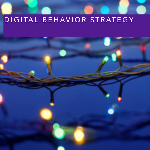 Digital Behaviour Strategy