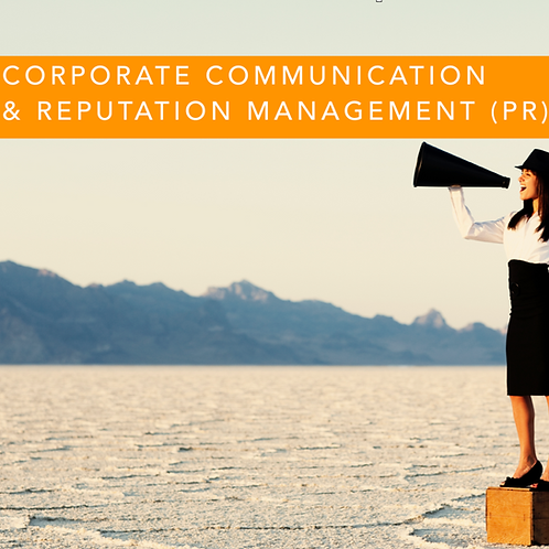 Corporate Communication & Reputation Management (PR)
