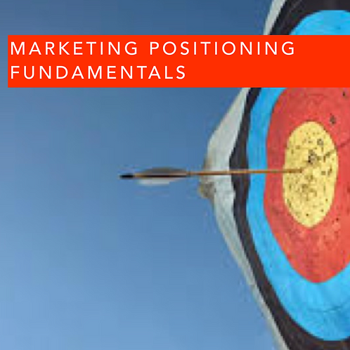 Marketing Positioning Fundamentals
