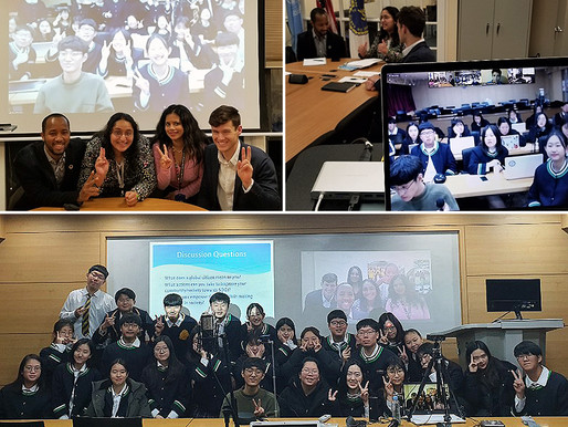 [IVECA 2018 Global Youth Virtual Roundtable – Fall] Inspiration and Action for the SDGs
