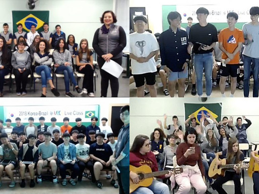Korean and Brazilian Students Travel Together into their History and Culture