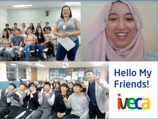 Brazilian and Korean Students Meet for the First Time