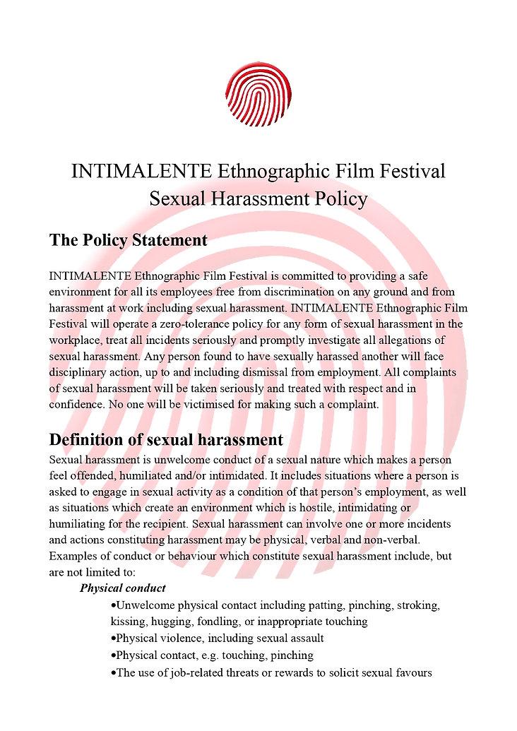 INTIMALENTE Ethnographic Film Festival S