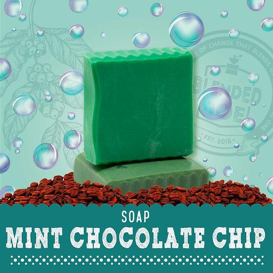 Mint Chocolate Chip Body Bar