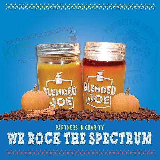 We Rock The Spectrum - Pumpkin Spice Latte Candle