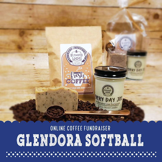 Glendora Softball - I Love Coffee Mini Gift Set