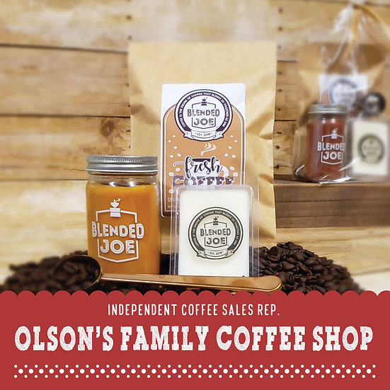 Olson Coffee Shop - I Love Coffee Mini Seasonal Gift Set