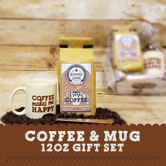 Coffee & Mug 12oz Gift Set