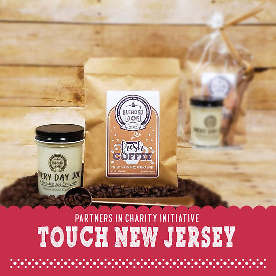 Touch New Jersey - Coffee & Candle 3oz Gift Set