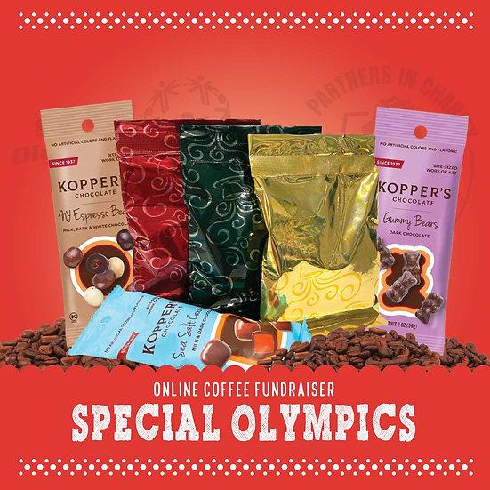 Special Olympics Coffee & Chocolate Mini Assortment