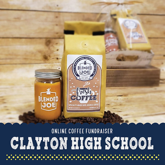 Clayton High - Coffee & Candle Seasonal Gift Set