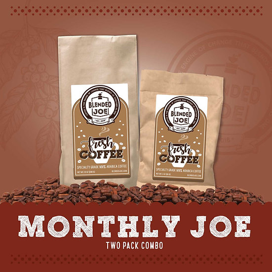 Monthly Joe Two Pack Combo