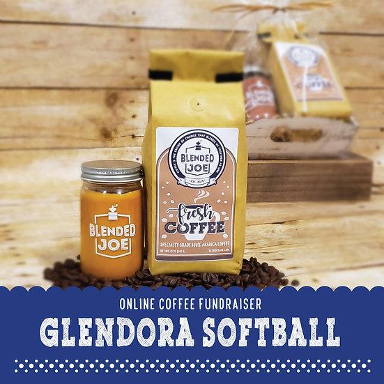 Glendora Softball - Coffee & Candle Seasonal Gift Set