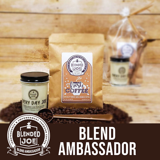 Blend Ambassador - Coffee & Candle 3oz Gift Set