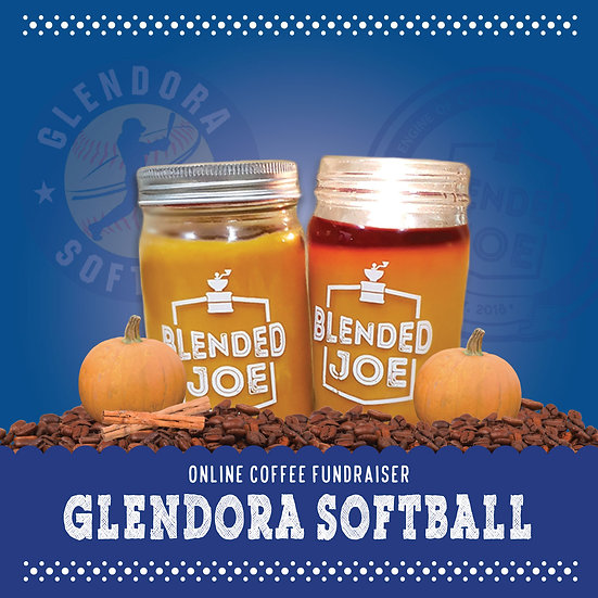 Glendora Softball - Pumpkin Spice Latte Candle