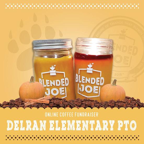 Delran Elementary - Pumpkin Spice Latte Candle