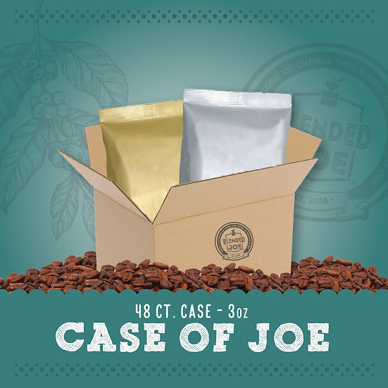 Case of Joe 3oz Packs | 48ct