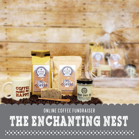 Enchanting Nest - I Love Coffee Deluxe Gift Set