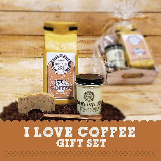 I Love Coffee Gift Set