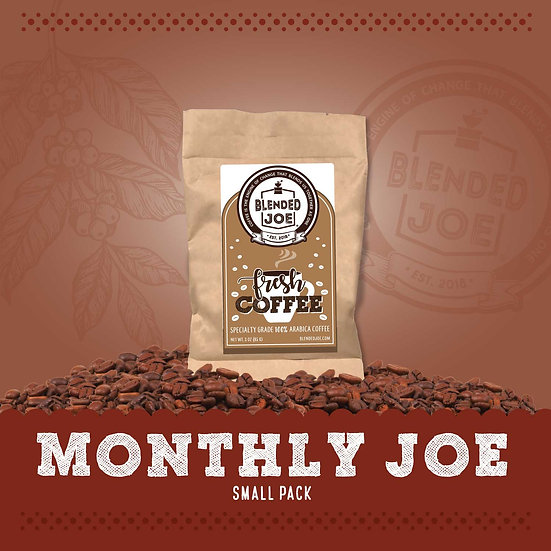 Monthly Joe 3oz Pack