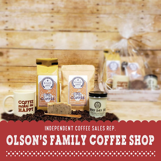 Olson Coffee Shop - I Love Coffee Deluxe Gift Set