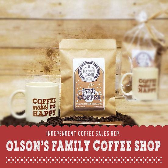 Olson Coffee Shop - Coffee & Mug 3oz Gift Set