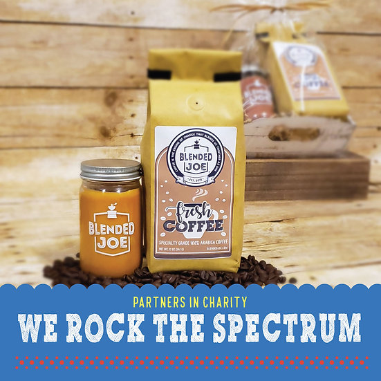 We Rock The Spectrum - Coffee & Candle Seasonal Gift Set