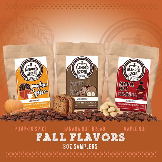 Seasonal Flavors - 3oz Fall Sampler