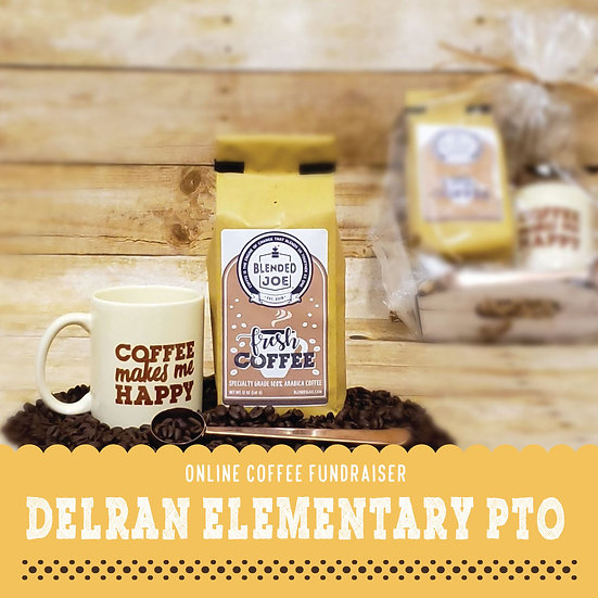 Delran Elementary - Coffee & Mug 12oz Gift Set