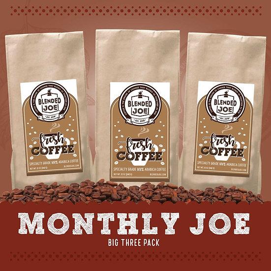 Monthly Joe Big Three Pack