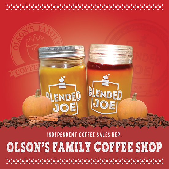 Olson Coffee Shop - Pumpkin Spice Latte Candle