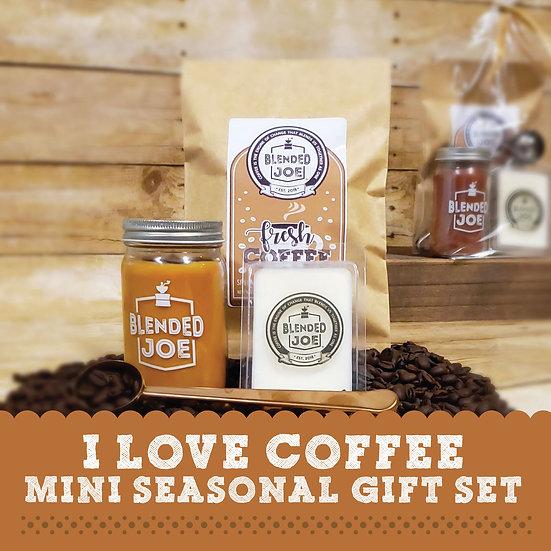 I Love Coffee Mini Seasonal Gift Set