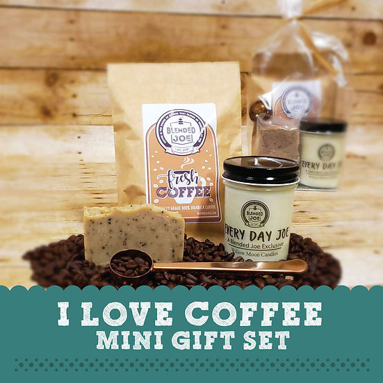 I Love Coffee Mini Gift Set