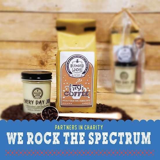 We Rock The Spectrum - Coffee & Candle 12oz Gift Set