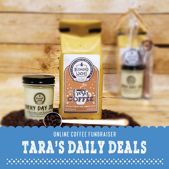 Tara's Daily Deals - Coffee & Candle 12oz Gift Set