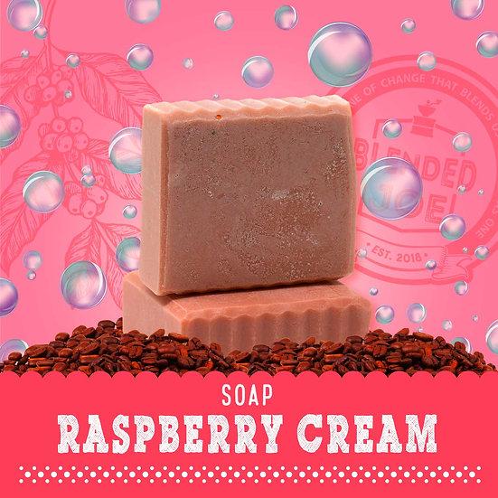 Raspberry Cream Body Bar