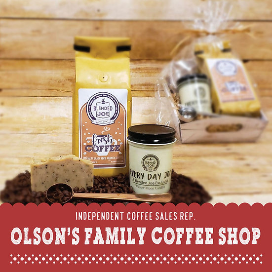 Olson Coffee Shop - I Love Coffee Gift Set