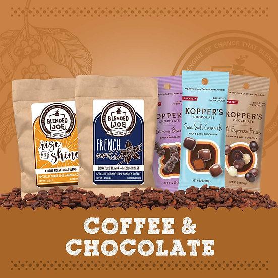 Coffee & Chocolate Sampler