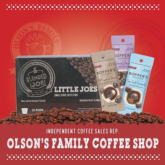 Olson Coffee Shop - Little Joes & Chocolate