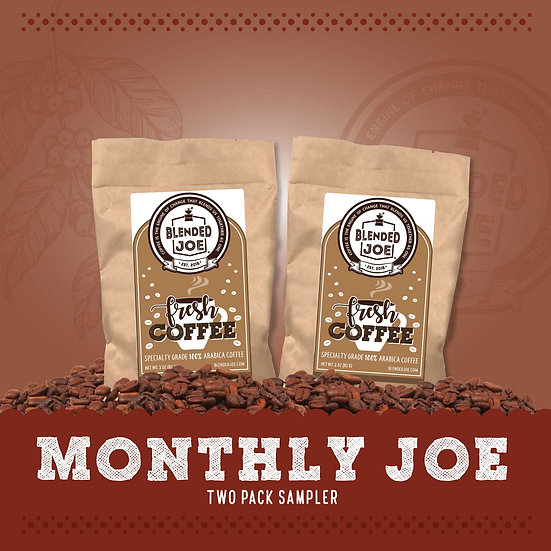Monthly Joe 3oz Two Pack