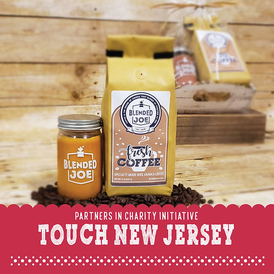 Touch New Jersey - Coffee & Candle Seasonal Gift Set