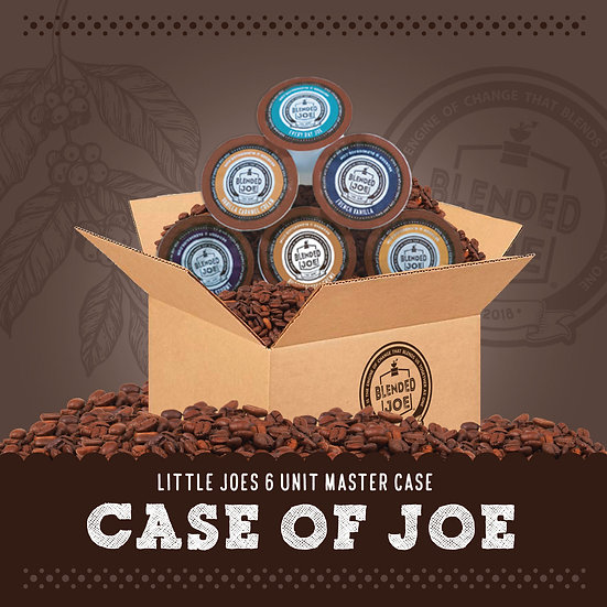Case of Little Joes | 6 Unit Master Case