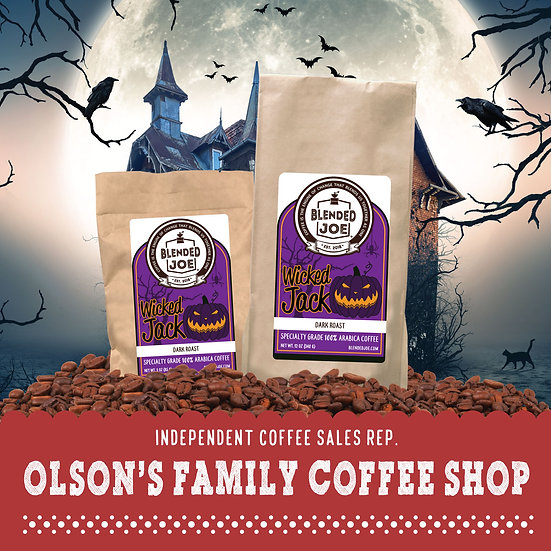 Olson Coffee Shop - Wicked Jack