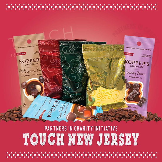 Touch New Jersey - Coffee & Chocolate Mini Assortment