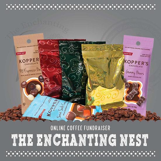 Enchanting Nest - Coffee & Chocolate Mini Assortment