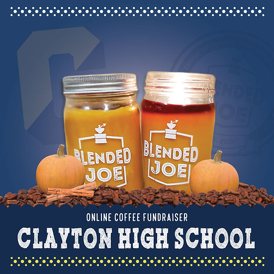 Clayton High - Pumpkin Spice Latte Candle