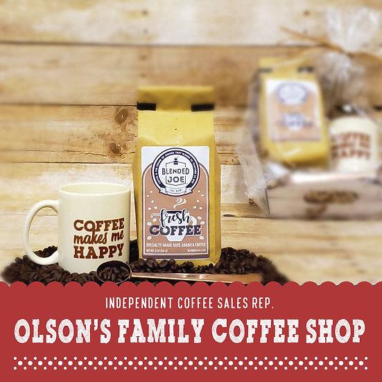 Olson Coffee Shop - Coffee & Mug 12oz Gift Set